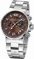 Ulysse Nardin Maxi Marine Chronograph Mens Wristwatch 353-66-7/355