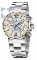 Ulysse Nardin Maxi Marine Chronograph Mens Wristwatch 353-66-7.314