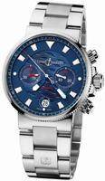 Ulysse Nardin Blue Seal Chronograph - Limited Edition Mens Wristwatch 353-68LE-7