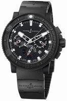 Ulysse Nardin Black Sea Chronograph Mens Wristwatch 353-92-3C
