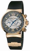 Ulysse Nardin Maxi Marine Chronograph Mens Wristwatch 356-66-3.319