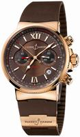 Ulysse Nardin Maxi Marine Chronograph Mens Wristwatch 356-66-3.355