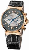 Ulysse Nardin Maxi Marine Chronograph Mens Wristwatch 356-66/319