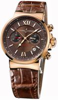 Ulysse Nardin Maxi Marine Chronograph Mens Wristwatch 356-66/355