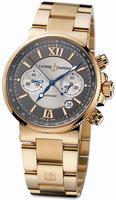 Ulysse Nardin Maxi Marine Chronograph Mens Wristwatch 356-66-8/319