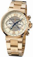 Ulysse Nardin Maxi Marine Chronograph Mens Wristwatch 356-66-8/354
