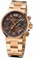 Ulysse Nardin Maxi Marine Chronograph Mens Wristwatch 356-66-8/355