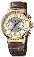 Ulysse Nardin Maxi Marine Chronograph Mens Wristwatch 356-66.354