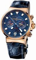 Ulysse Nardin Blue Seal Chronograph - Limited Edition Mens Wristwatch 356-68LE