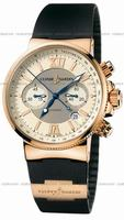 Ulysse Nardin Maxi Marine Chronograph Mens Wristwatch 356.66.3-354