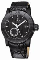 Corum Romulus Black Mens Wristwatch 373.516.98-F221.BN75