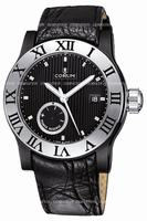 Corum Romulus Black Mens Wristwatch 373.517.98-F221.BN75