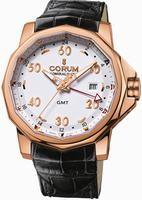Corum Admirals Cup GMT 44 Mens Wristwatch 383.330.55-0081.AA12