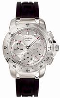 Glashutte Sport Evolution Panoramadatum Mens Wristwatch 39-31-44-04-04