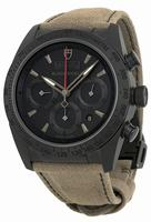 Tudor Fastrider Black Shield Chronograph Mens Wristwatch 42000CN-AL