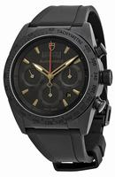Tudor Fastrider Black Shield Chronograph Automatic Mens Wristwatch 42000CN-BKRS