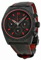 Tudor Fastrider Black Shield Chronograph Mens Wristwatch 42000CR-BKLS