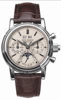 Patek Philippe Split Seconds Chronograph Mens Wristwatch 5004A