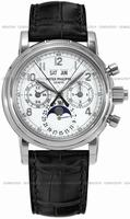 Patek Philippe Split Seconds Chronograph Mens Wristwatch 5004G