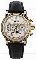 Patek Philippe Split Seconds Chronograph Mens Wristwatch 5004J