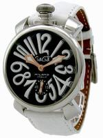 GaGa Milano Manual 48mm Steel Men Wristwatch 5010.6.WH
