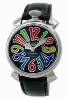 GaGa Milano Manual 40mm Steel Unisex Wristwatch 5020.2.BK
