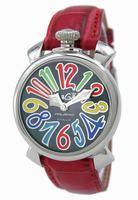 GaGa Milano Manual 40mm Steel Unisex Wristwatch 5020.2.RE