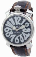 GaGa Milano Manual 40mm Steel Unisex Wristwatch 5020.4.BR