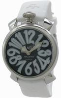 GaGa Milano Manual 40mm Steel Unisex Wristwatch 5020.4.WH