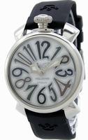 GaGa Milano Manual 40mm Steel Unisex Wristwatch 5020.5.BK