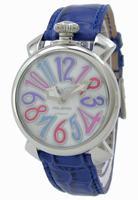 GaGa Milano Manual 40mm Steel Unisex Wristwatch 5020.7.BL