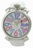 GaGa Milano Manual 40mm Steel Unisex Wristwatch 5020.7.WH