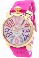 GaGa Milano Manual 40mm Gold Plated Unisex Wristwatch 5021.1PK