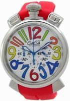 GaGa Milano Chronograph 48mm Men Wristwatch 5050.1.RE