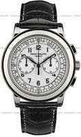 Patek Philippe Classic Chronograph Mens Wristwatch 5070G