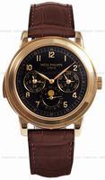 Patek Philippe Chronograph Perpetual Calendar Mens Wristwatch 5074R