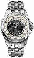 Patek Philippe World Time Mens Wristwatch 5130-1G-010