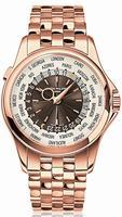 Patek Philippe World Time Mens Wristwatch 5130-1R-001