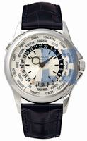Patek Philippe World Time Mens Wristwatch 5130G