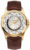 Patek Philippe World Time Mens Wristwatch 5130J-001