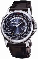 Patek Philippe World Time Mens Wristwatch 5130P-014