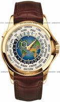 Patek Philippe World Time Mens Wristwatch 5131J
