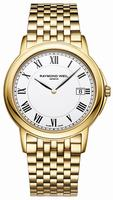 Raymond Weil Tradition Slim Mens Wristwatch 5466-P-00300