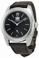 Tudor Glamour Mechanical Mens Wristwatch 57000-BKBKL