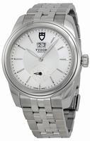 Tudor Glamour Mechanical Mens Wristwatch 57000-SVSS