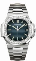 Patek Philippe Nautilus Mens Wristwatch 5713-1G