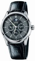 Oris Artelier GMT Mens Wristwatch 581.7592.40.54.LS