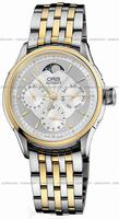 Oris Artelier Complication Mens Wristwatch 581.7606.43.51.MB