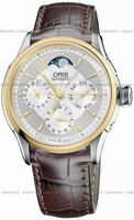 Oris Artelier Complication Mens Wristwatch 581.7606.4351.LS