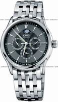 Oris Artelier GMT Mens Wristwatch 58175924054MB